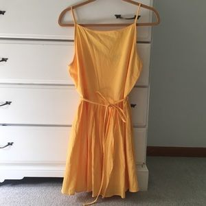 Asos Yellow Sundress